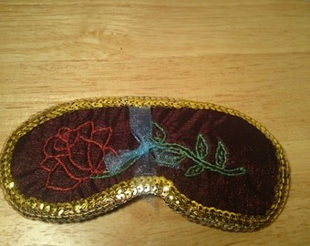 Rose sleep mask