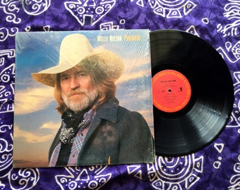 "Willie Nelson - ""Partners"" Vinyl LP, Record Album, Original 1983"