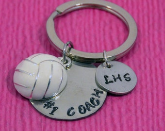 Volleyball Coach | Volleyball Gifts | Volleyball Keychain | Volleyball Accessories | Volleyball Dad Gifts | Mom Gifts| Volleyball Coach Gift