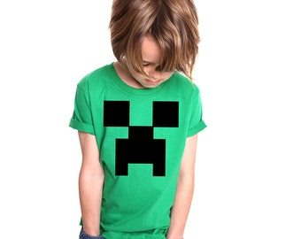 Minecraft Creeper Kids T-shirt