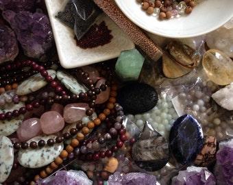 Custom Mala: You Choose Stones, Beads, More