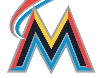 Miami Marlins  Decal/Sticker