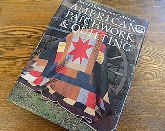 Vintage Book - bhg American Patchwork & Quilting - Knitting Sewing