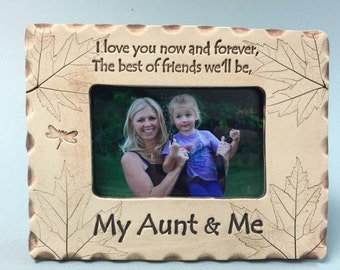 My Aunt & Me Frame, best Aunt gift