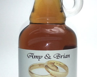 Personalized Label Vermont Maple Syrup Gallone Glass (40 ml) Case of 24