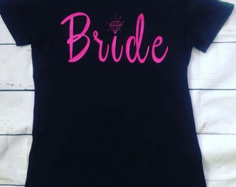 Bride/ladies Tee/ Wedding Gift/ Bridal Party Gift