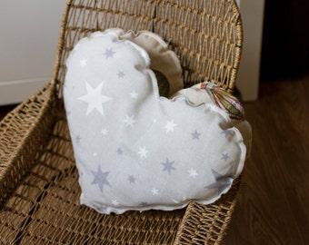 SALE! Cushion heart Stars