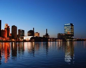 Downtown Toledo, Ohio Skyline