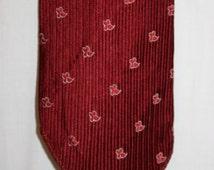1950's Red Silk Tie