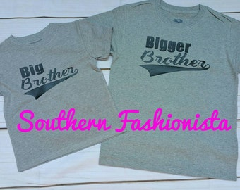 Big Brother/Bigger Brother shirts (2 shirts)