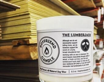 The Lumberjack - Boyfriend Candle