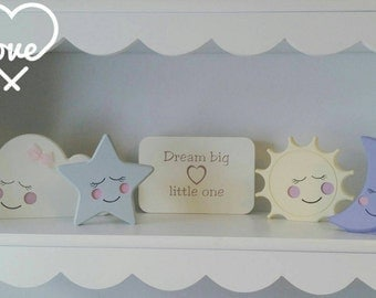 Beautiful nursery set perfect new baby gift