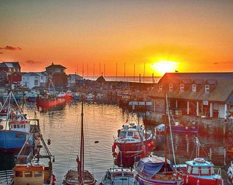 Mevagissey England sunrise Photograph