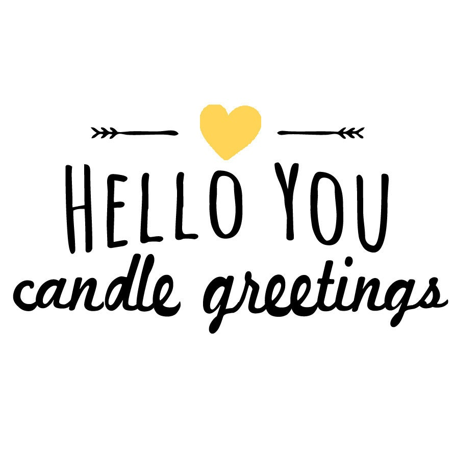 personalized candle greetings for every by helloyoucandles on etsy