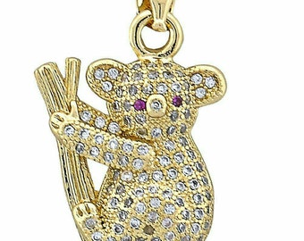Gold layered pendant new conditions.