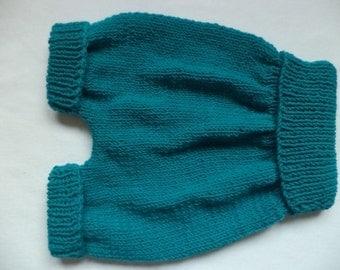 Baby shorts 74/80 merino wool pants baby pants wool knit