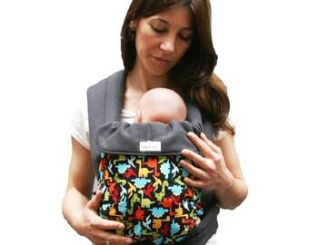 Porte bébé/ Mei Tai/Echarpe de portage/Baby carrier  Dinos Maman a dit! 100% coton biologique/ Biologic cotton Of the birth up to 15 kg