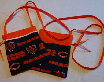 NFL Chicago Bears Crossover/Crossbody/Hipster Bag