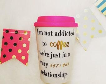 I'm Not Addicted... To-Go Mug