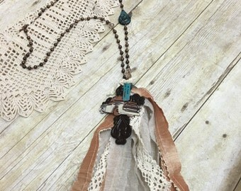 All roads lead to heaven necklace