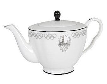London 2012 Collection Wedgwood 1948 Olympic Teapot - in lovely gift box
