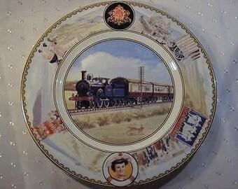 Coalport - London & North Western Railway Limited Edition - Wall Plate