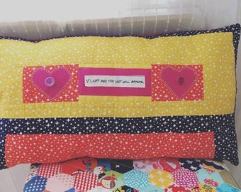 Retro Cassette Mixtape cushion