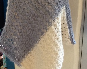 Poncho, knitted, alpaca with wool - Andes