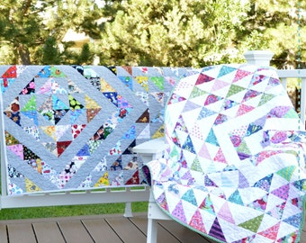 I Spy Matching Game Quilt Print Pattern