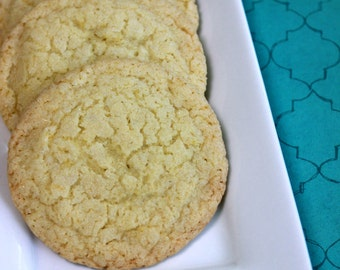 Sweet Lemon Cookies