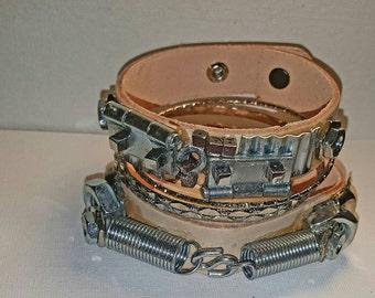 DareByKionde #SpikedAndScrewed collection bracelet set