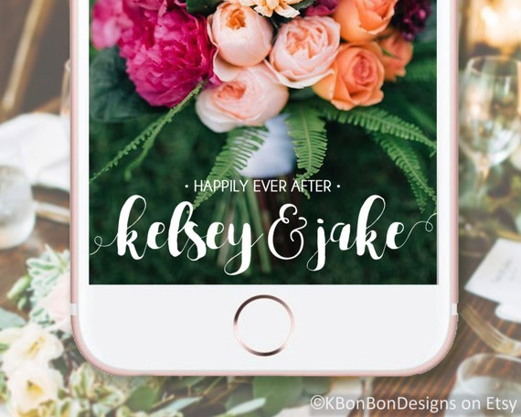 how to create your own snapchat filter for wedding
