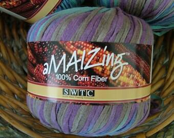 SWTC Amaizing Corn Fiber Yarn Made in China Color No 174 Lot No 71006-61 Crochet Knit