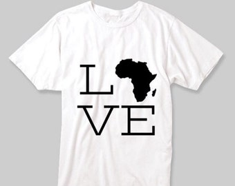 Africa Whie Tee Collection