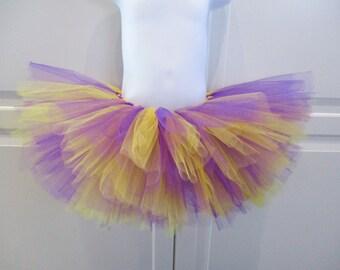 Purple and Yellow Tutu/Lakers Tutu/Vikings Tutu - Other colors available