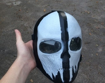 Ghost inspired facemask