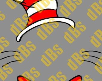 Dr Seuss Monogram Template SVG File