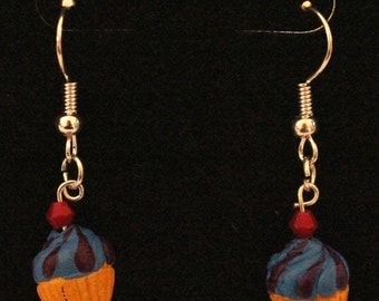 Ceramic Cupcake Earrings