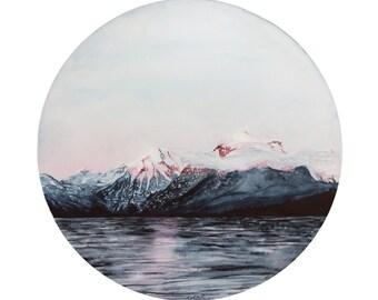 Morning Mountains Print