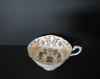 Canada Coats of Arms & Emblems Teacup Custom-Scented Candle