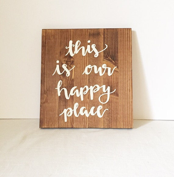 Wood sign wooden sign home decor sign farmhouse decor rustic for Best home decor on etsy