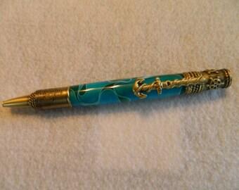nautical theme pen