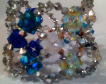 Multi-colored Swarovski Crystal Bracelet