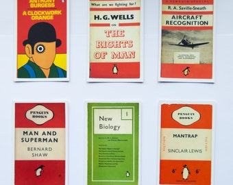 Penguin Book Cover Postcards