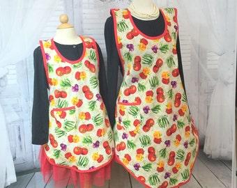 Mona 1925 Mommy & me apron set
