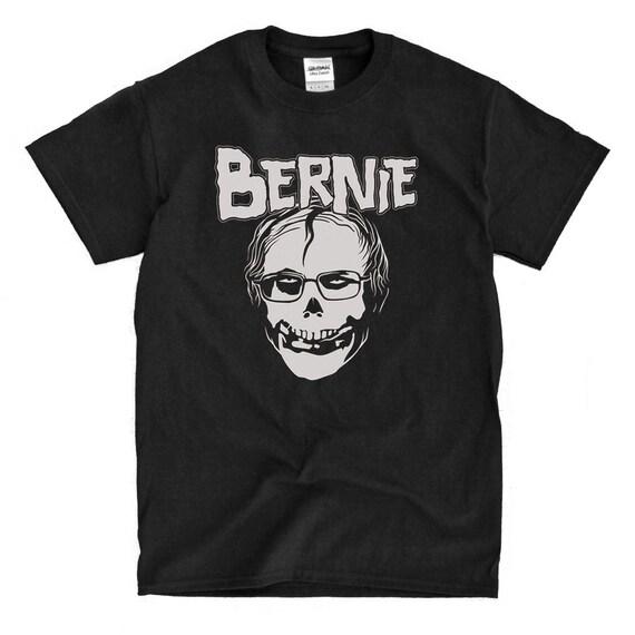 Bernie misfits parody t shirt high quality ready to ship for T shirt printing downtown los angeles