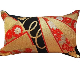 Cushion of Obi (Kimono) Japanese Silk  0000001
