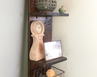 58 inch Vertical Shelf