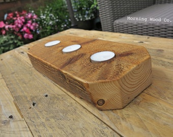 Hand crafted candle holder