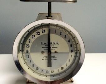 1950's Hanson 25lb kitchen Scale